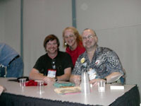 Steele, Karen, Sawyer - My 2 favorite male SF authors :)